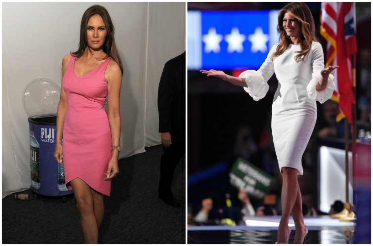 At a Frenzied Republican Convention, the Trump Women Use Style to Show Composure