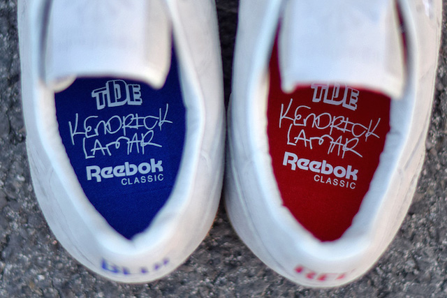 First Images of Kendrick Lamar's Sneaker Collection's Here, And They Have A Social Message