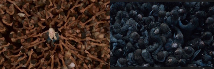 "In the Chaos of the ""Battle of the Bastards,"" You Probably Missed This Jon-Dany Comparison"