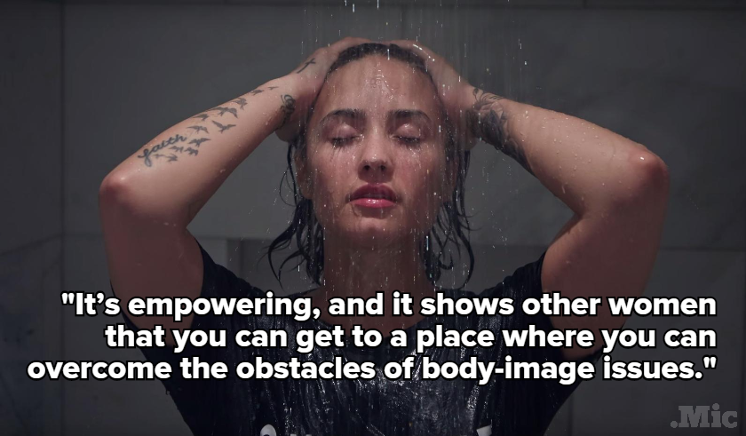 Demi Lovato Just Posed Nude for the First Time Ever for a Very Feminist Reason