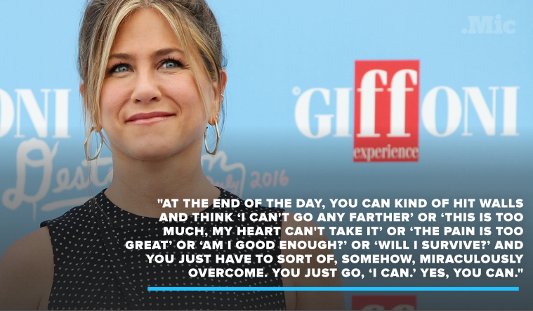 Jennifer Aniston Has Some Inspiring Words of Wisdom About Self-Image