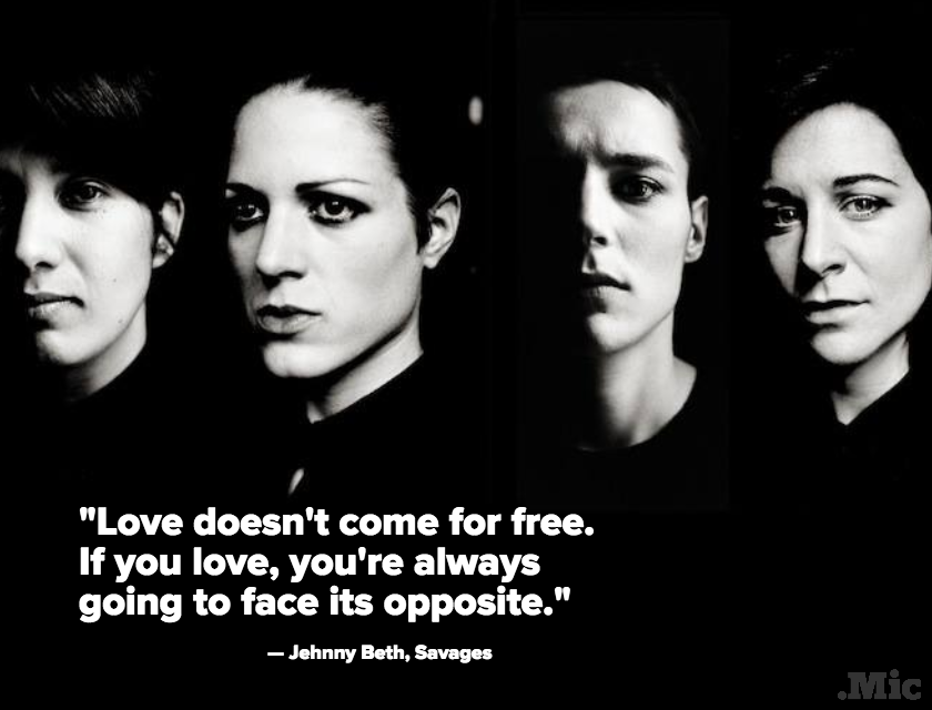 Savages' New Album 'Adore Life' Will Remind Listeners How to Love in a Fucked Up World