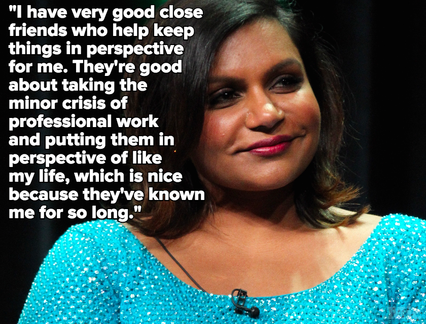 Mindy Kaling Sounds Off on Why Our Grown-Up Friends are So Important