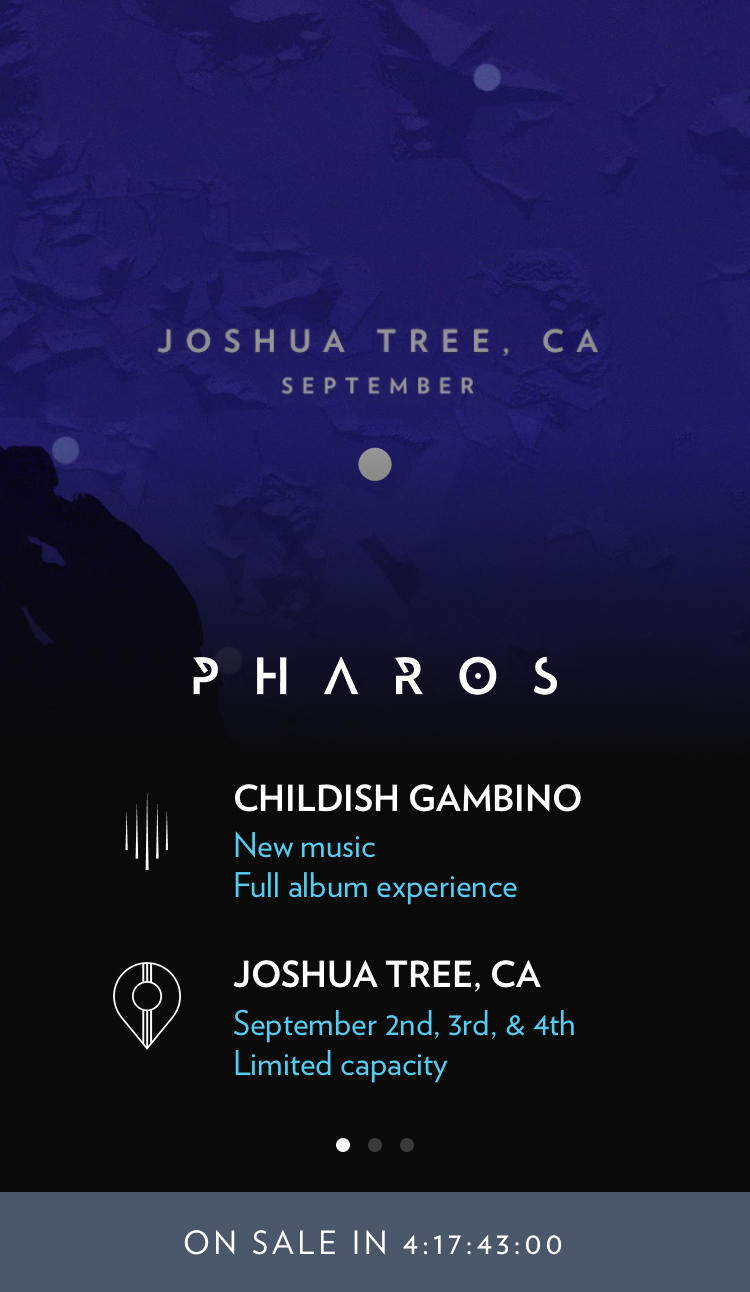 The Childish Gambino's 'Pharos' Album Experience — Everything You Need to Know