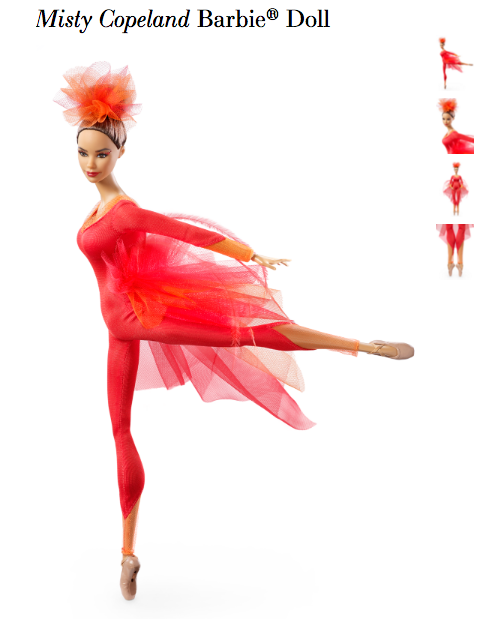 Misty Copeland Made Sure the Barbie Inspired by Her Had a Very Specific Body Type