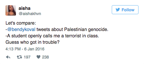 This High Schooler Just Live-Tweeted Her Trip to the Principal for Her Pro-Palestine Views