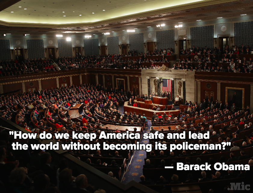 Obama Cautions Against America Being the World's 'Policeman' in Final State of the Union