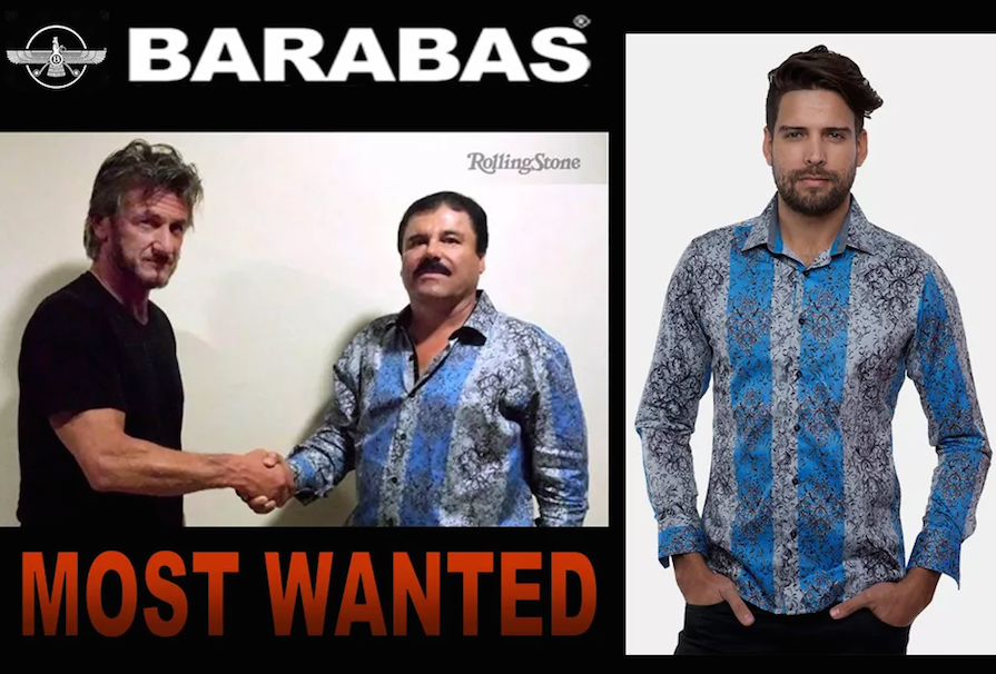 El Chapo's Shirt Is Selling Out, Because Fashion Inspiration Really Can Come From Anywhere