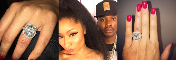 Is Nicki Minaj Engaged to Meek Mill? Rapper Sets the Record Straight About Her 2 Rings