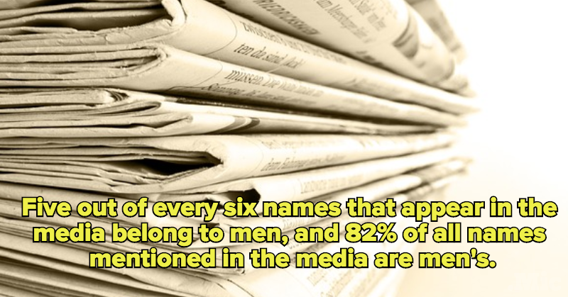 McGill University Study Proves Men Appear More Frequently In News Reports Than Women