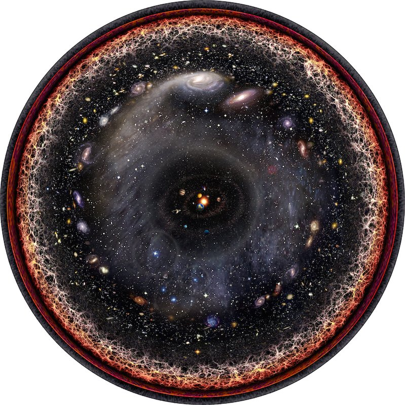 Pablo Carlos Budassi Has Created an Image of the Entire Universe — And It's Amazing
