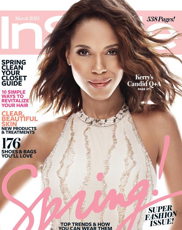 People Are Accusing Adweek of Altering Kerry Washington's Face for Its Cover