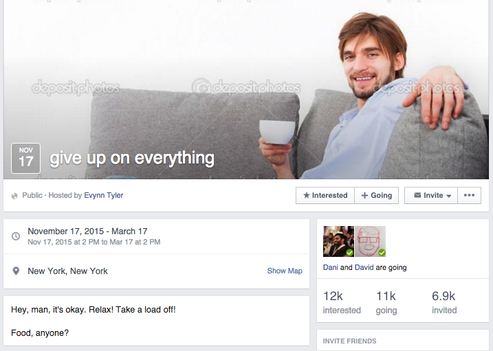 Thousands of People Are Attending Parties on Facebook So Awesome They're Literally Unreal