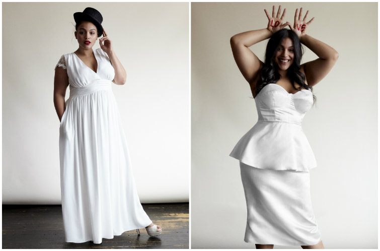 Stone Fox Bride Teams With Eloquii For New Plus-Size Bridal Collection