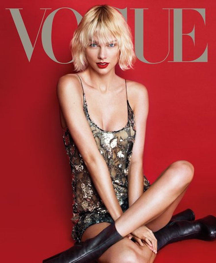 Taylor Swift Looks Nothing Like Taylor Swift On the Cover of 'Vogue'