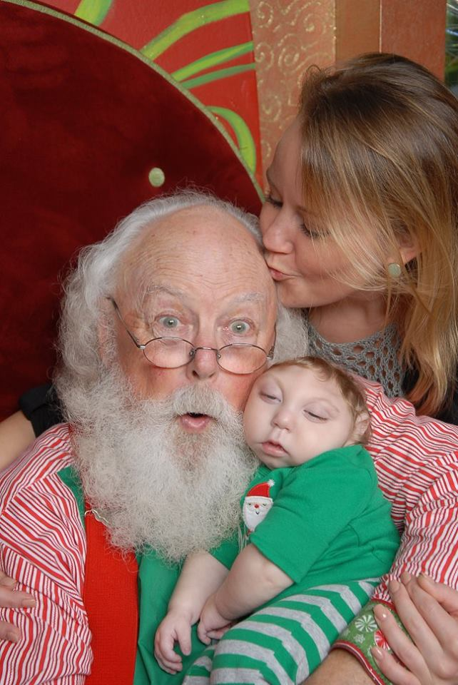 A Baby With a Rare Brain Condition Lived to Meet Santa — And the Pictures Are Going Viral