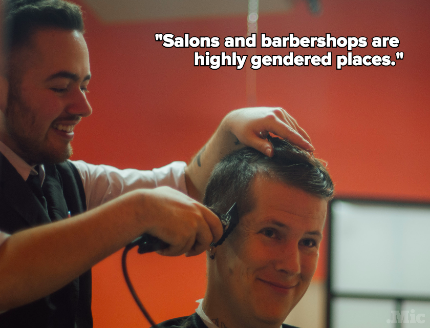 This Transgender Barbershop Is Redefining What a Salon Can Be