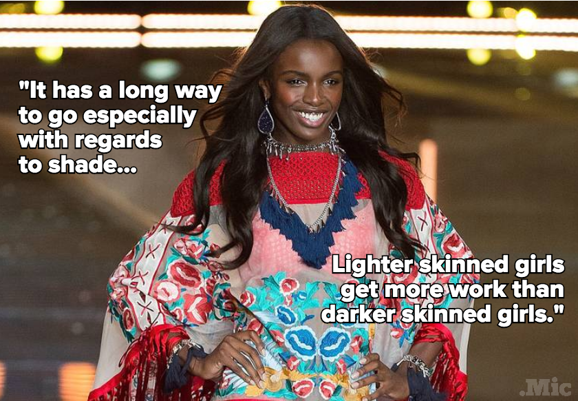 Victoria's Secret Model Calls Out Fashion's Problem With Dark-Skinned Women