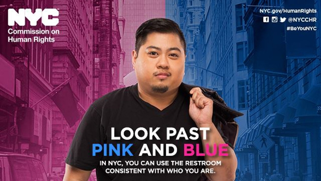 This Is the Transgender Bathroom Ad Campaign America's Been Waiting For