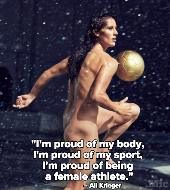 Ali krieger espn body issue behind the scenes 2