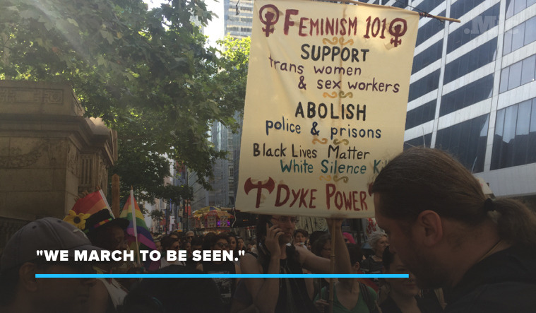 NYC Dyke March Was the Day Before Pride — Here's Why You Didn't Hear About It