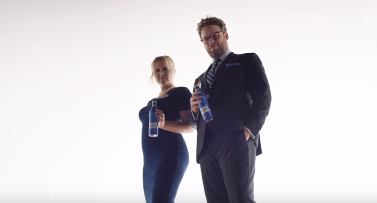 Bud Light Super Bowl 2016 Ad Replaces Puppies With Amy Schumer and Seth Rogen