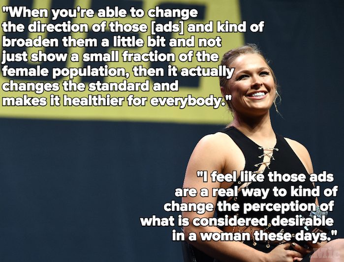 5 Times Ronda Rousey Was the Feminist Hero We All Needed