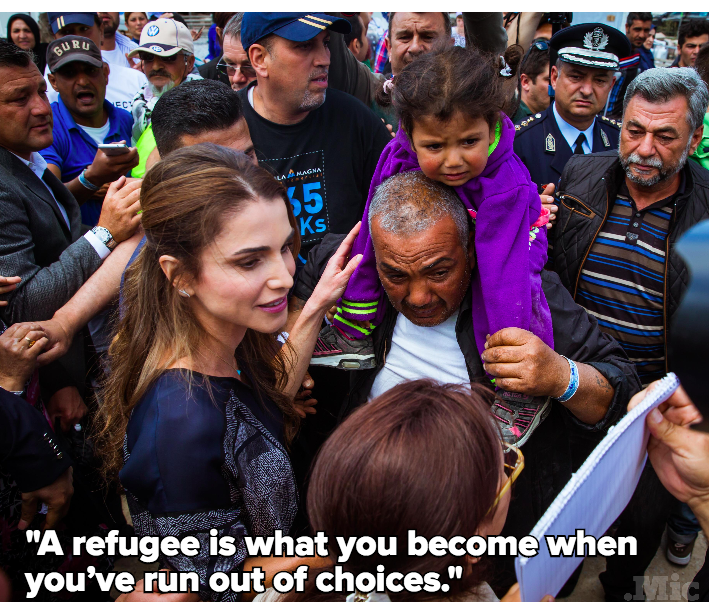 Exclusive: Queen Rania Reveals What the Syrian Refugee Crisis Really Looks Like in Jordan