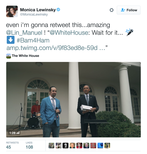 We Don't Deserve Lin-Manuel Miranda Freestyling With President Obama at the White House