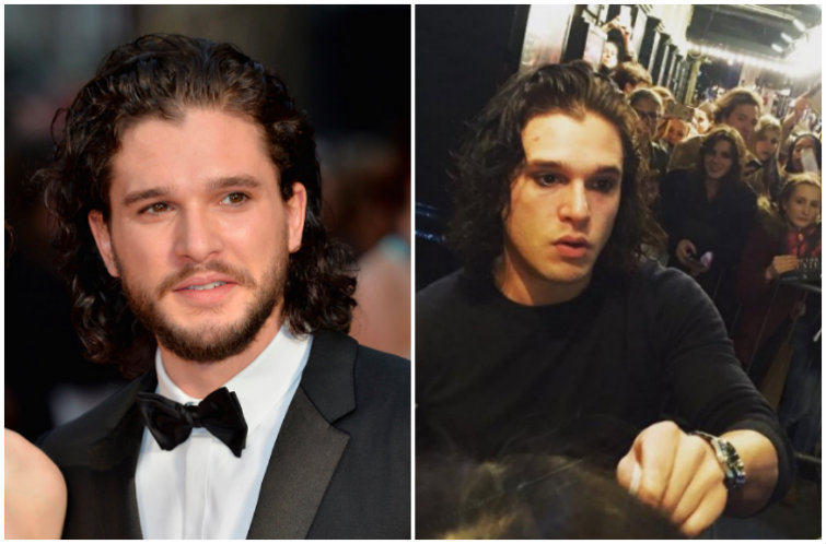 Just Like Drake, Kit Harington Shaved His Beard — and Lost All His Hotness