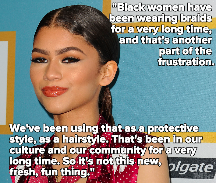 Zendaya Gets Real About the Problem With Cultural Appropriation