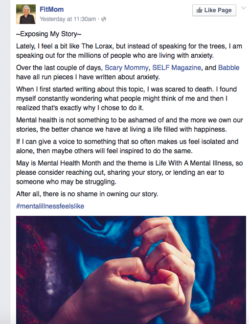 This Mom Wrote A Powerful Letter About Parenting And Mental Health