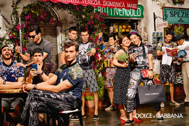 "Dolce and Gabbana's New Ads Feature ""Chinese Tourists"" in Italy"