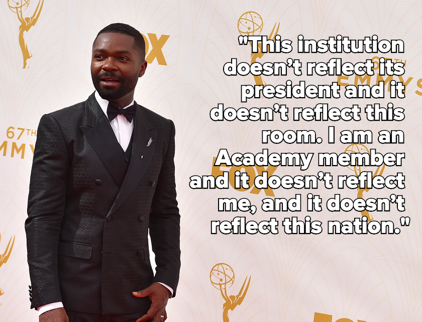 "David Oyelowo Slams the Oscars, Says the Academy ""Doesn't Reflect Me"""
