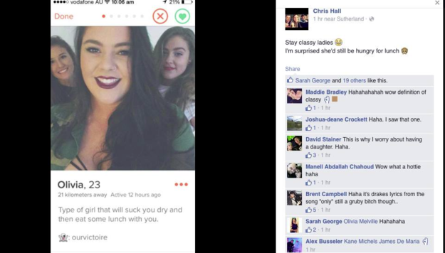 An Australian Man Just Pled Guilty to Sexist Online Harassment on Tinder
