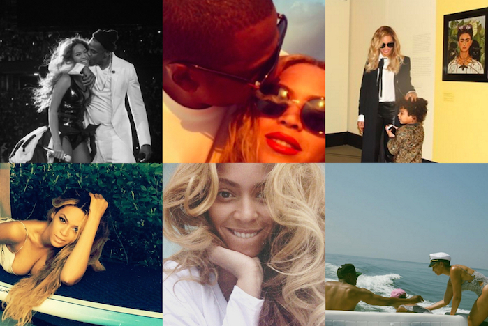 12 of the Most Candid Beyonce Instagram Photos That Show She's Almost Just Like Us