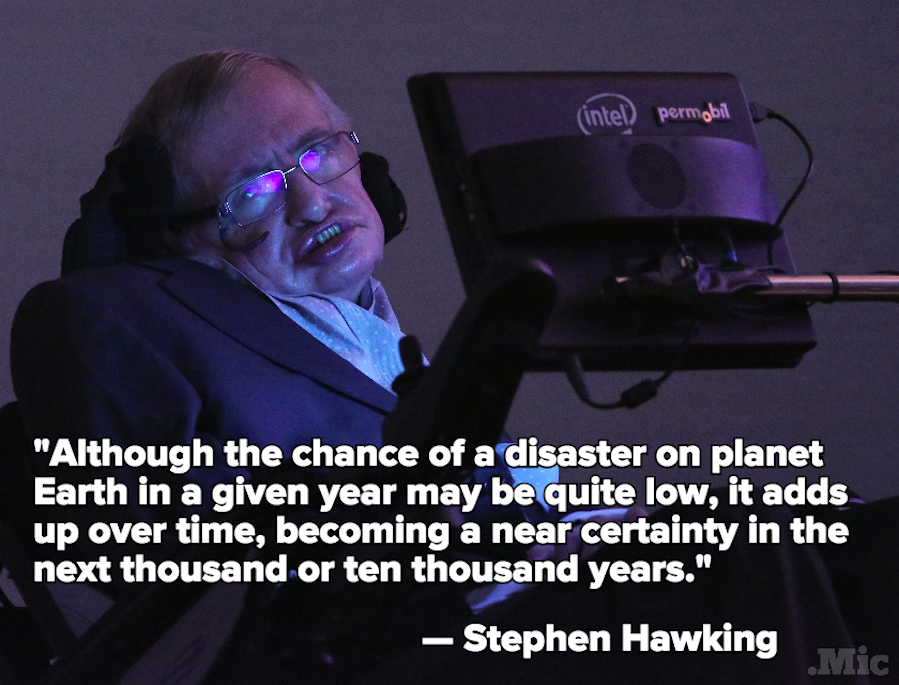 Stephen Hawking: Earth Is Doomed (Probably)