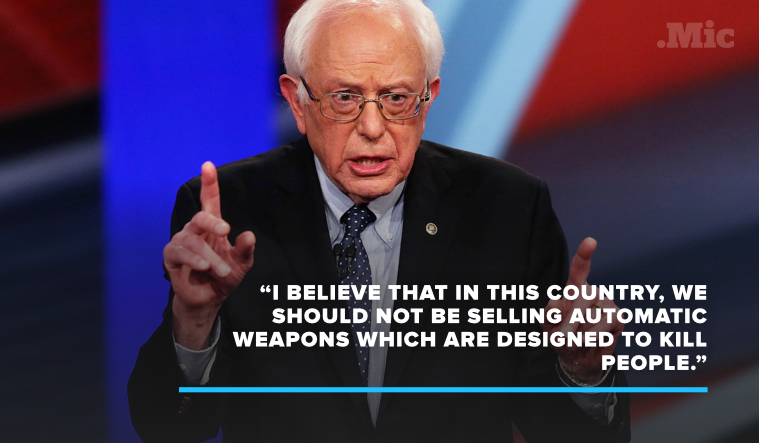 Bernie Sanders Just Nailed the Real Culprit Behind the Mass Shooting in Orlando