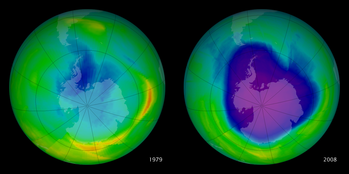 The Ozone Hole Over the South Pole Is Finally Healing