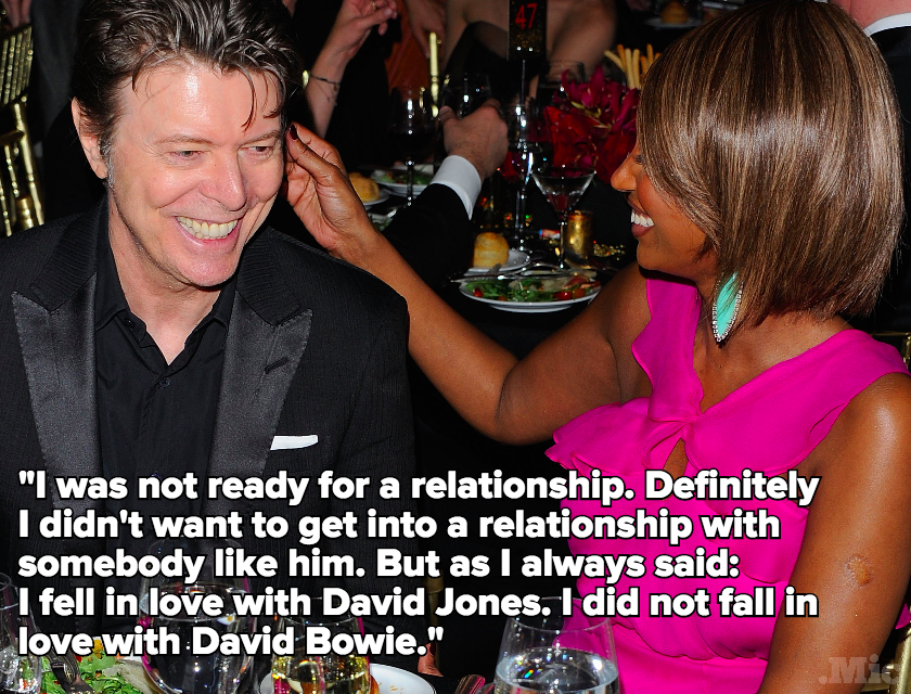 This Iman Quote Offers A Glimpse At What The Real David Bowie Was Like