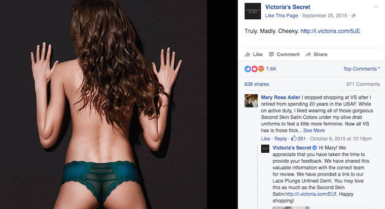 Victoria's Secret Is Once Again Accused ofRetouching — This Time for a Floating Elbow