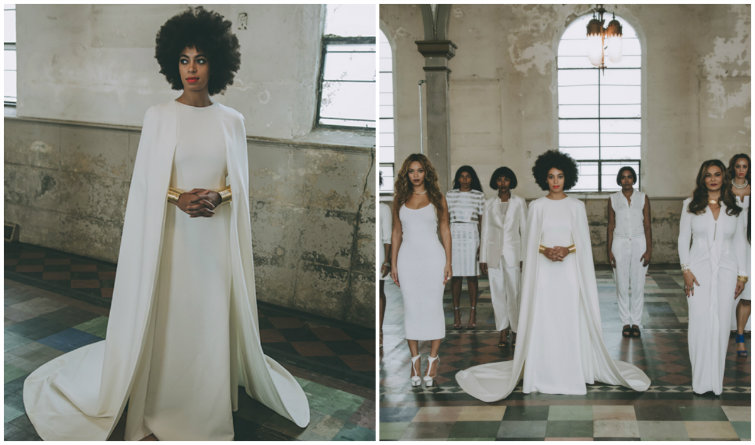 Thanks to Solange, Capes Are Now a Bridal Go-To