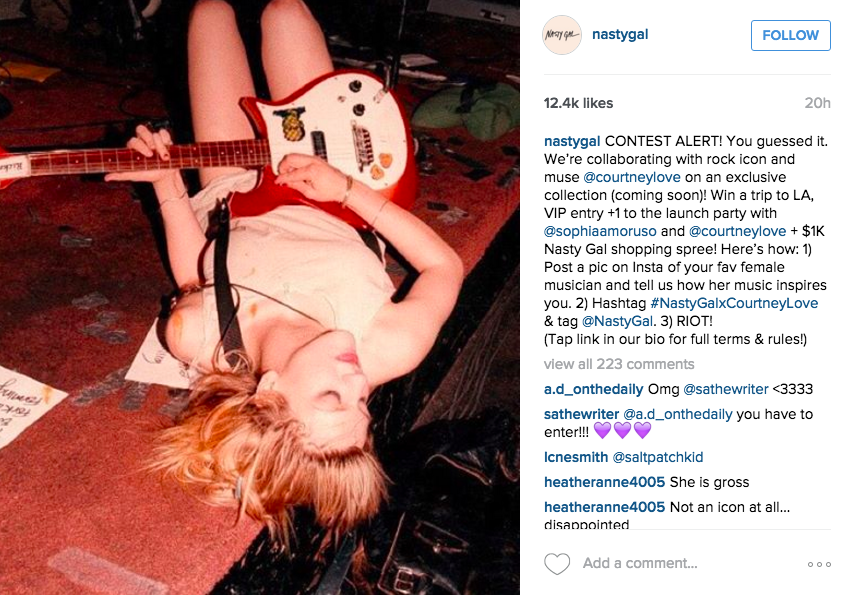 Courtney Love Is Getting Her Own Clothing Line With Nasty Gal