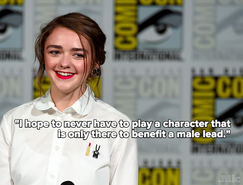 "Maisie Williams Never Wants to Play a Woman Who Is ""Only There to Benefit a Male Lead"""