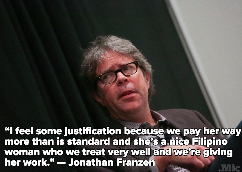 Jonathan Franzen, Writer and Millionaire, Says He Is a Poor Person