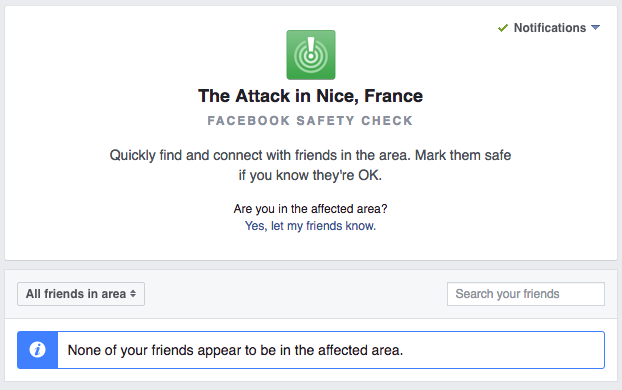How to Use Facebook's Safety Check in Wake of Nice, France, Bastille Day Attack
