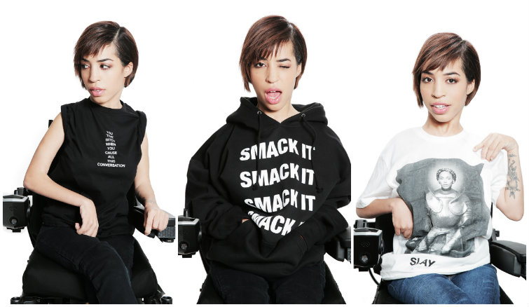 Beyoncé Casts a Model With Muscular Dystrophy to Show Off Her Latest Merch