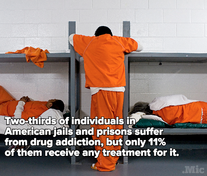 This Is What It's Like to Be Addicted to Drugs in Prison