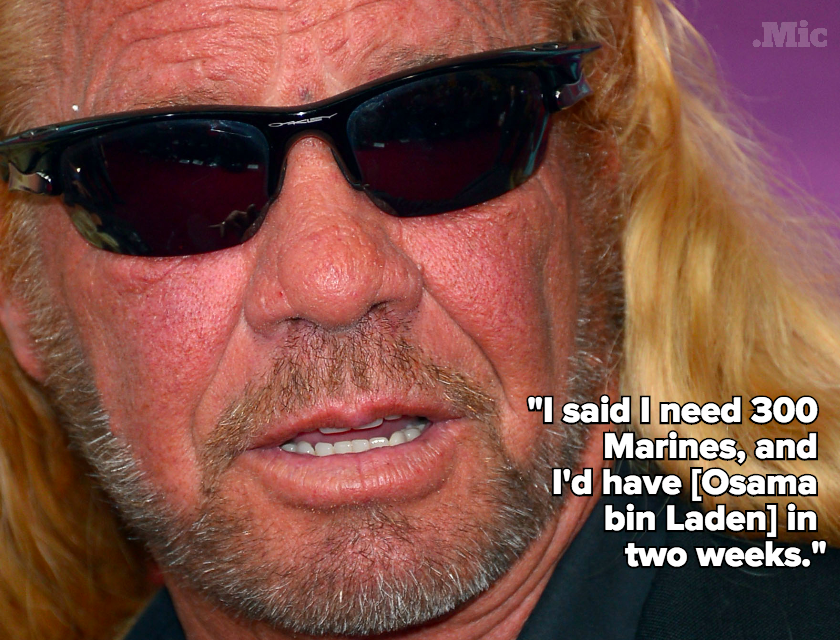 Dog the Bounty Hunter Told Us His Secret Weapon for Destroying ISIS: Pig's Blood