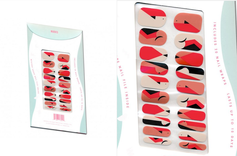 Lena Dunham's Nail Art Line Features Adorable Little Boobs, Vaginas